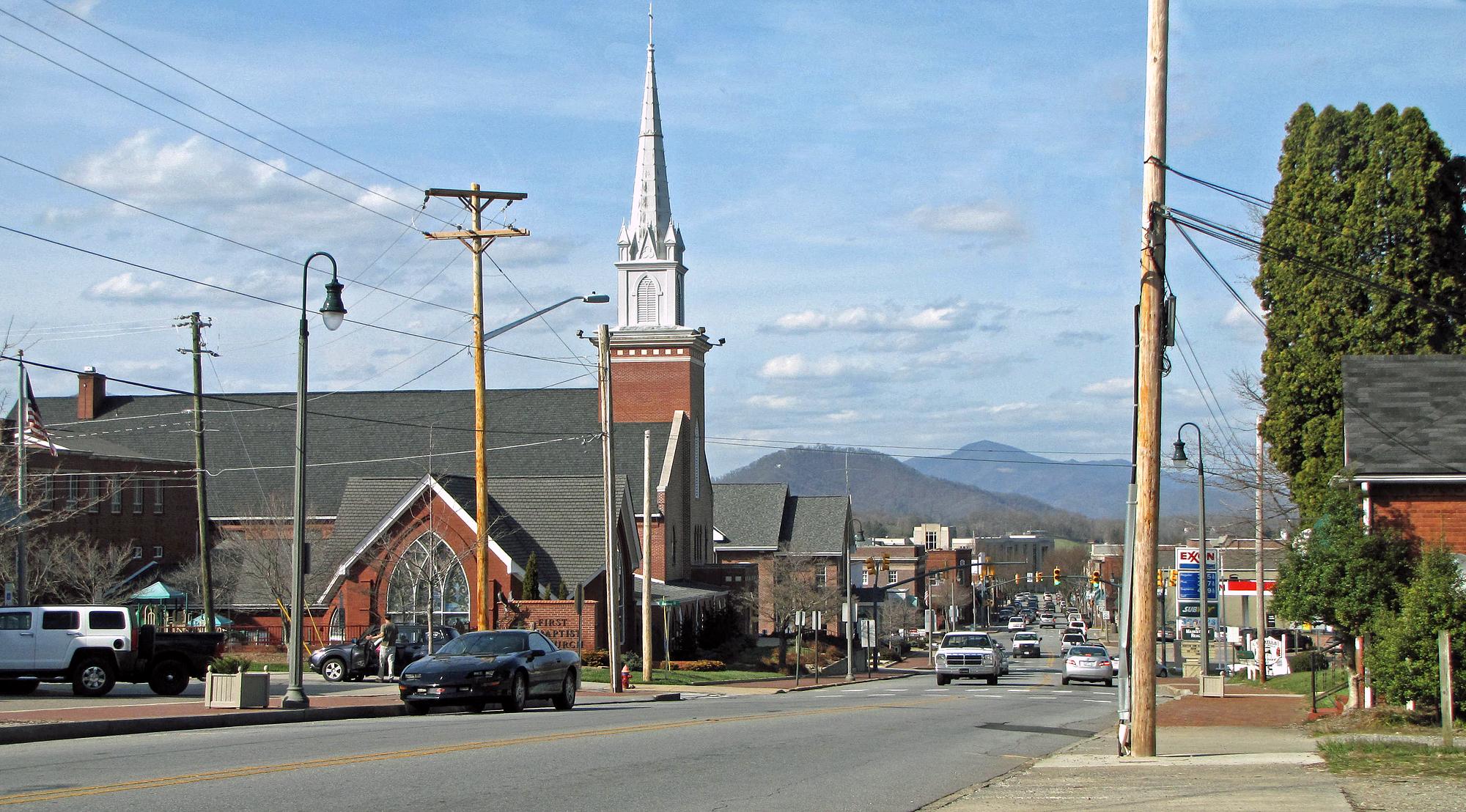 File Waynesville North Carolina Jpg Wikimedia Commons