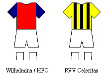 Wilhelmina/HFC and RVV Celeritas kits