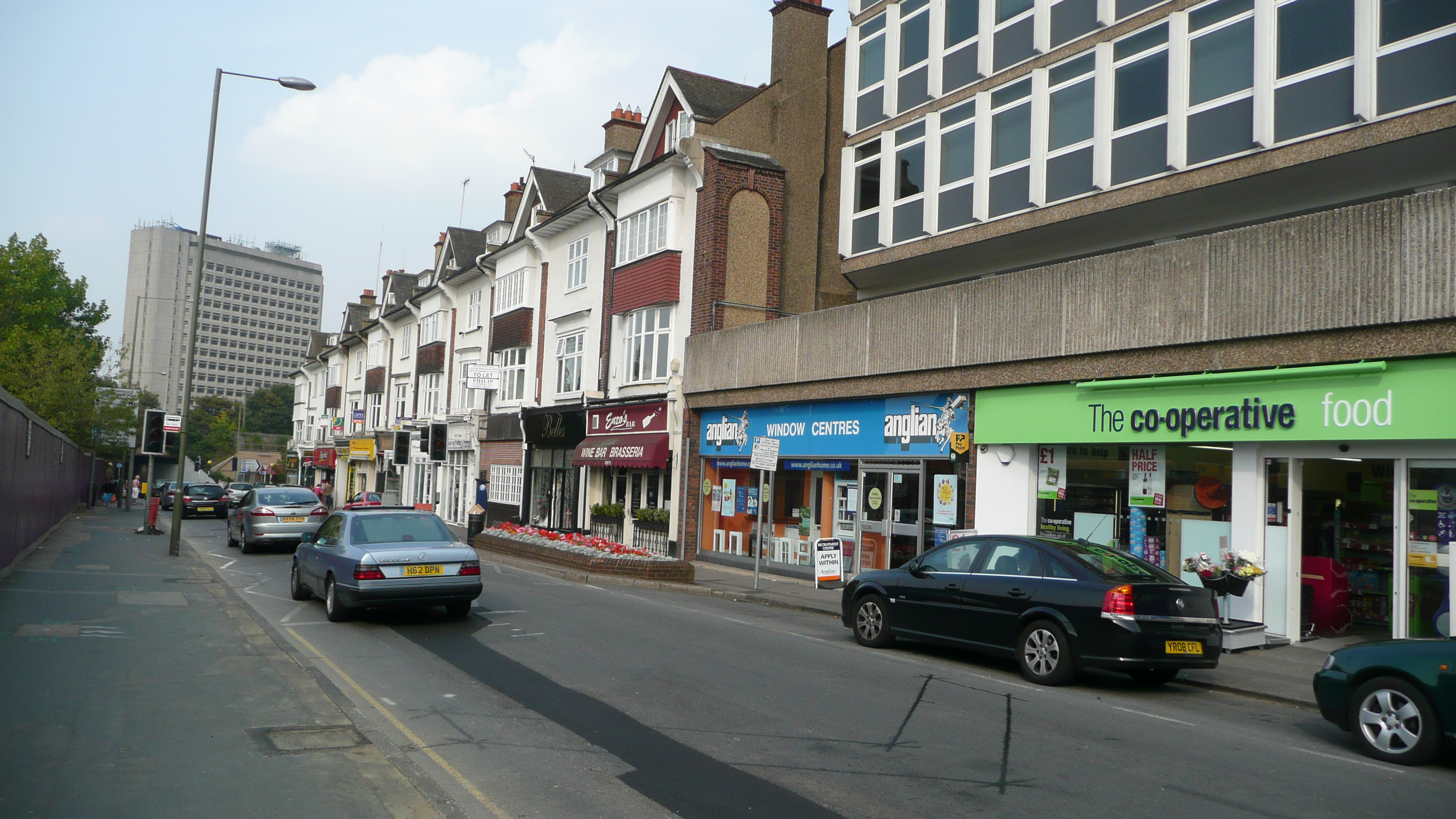 File Woking Guildford Road Shops Jpg