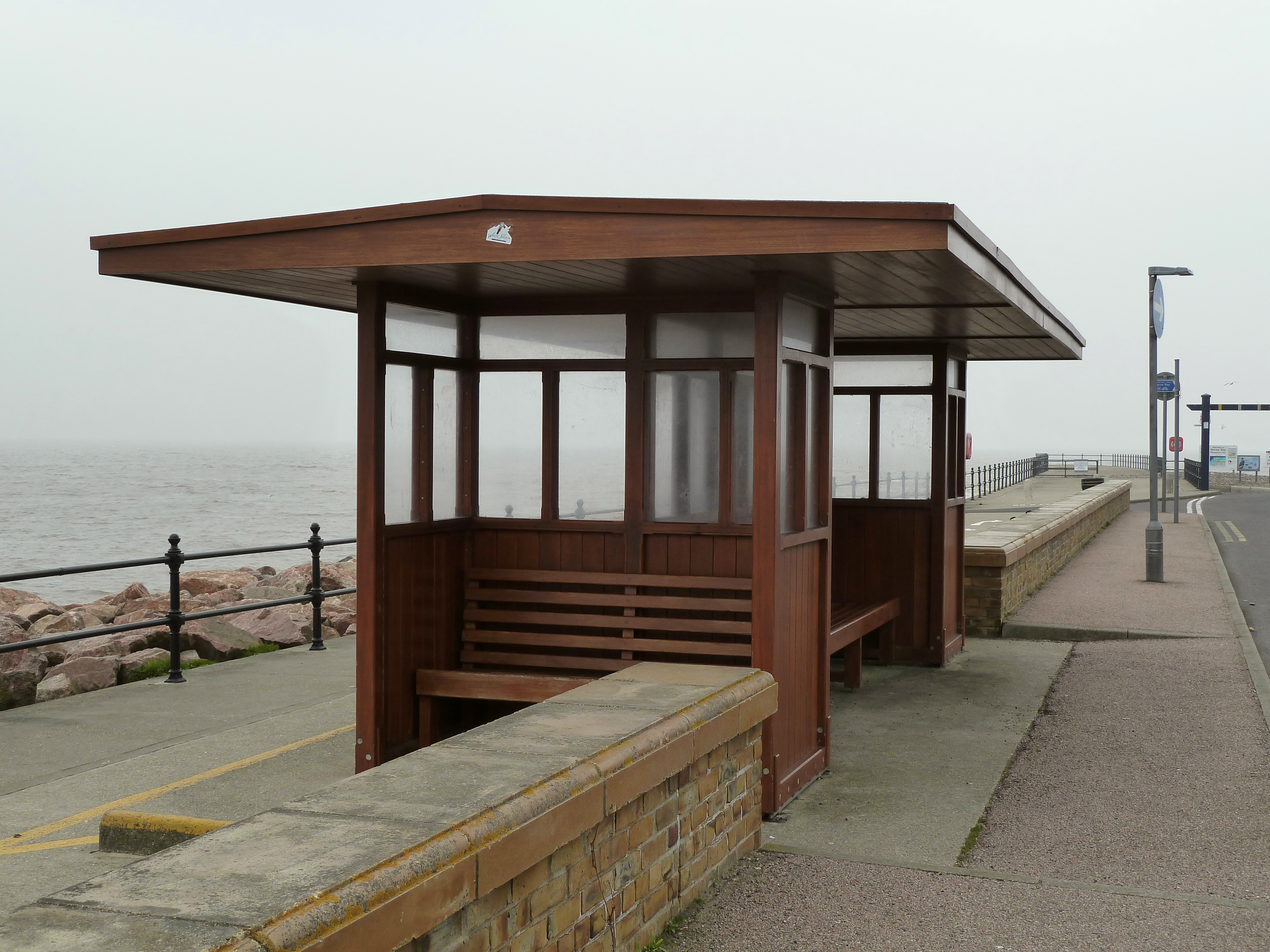 Wood Bus Shelter : The gallery for gt wooden bus stop shelter