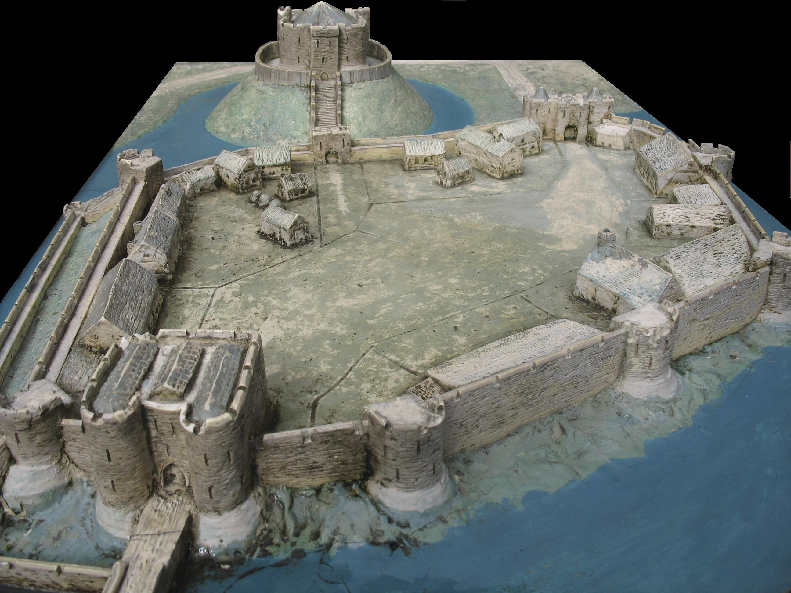 File york castle diorama jpg wikimedia commons for 11th century castles floor plan
