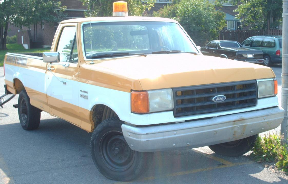 Custom 92 96 f150 ford autos post
