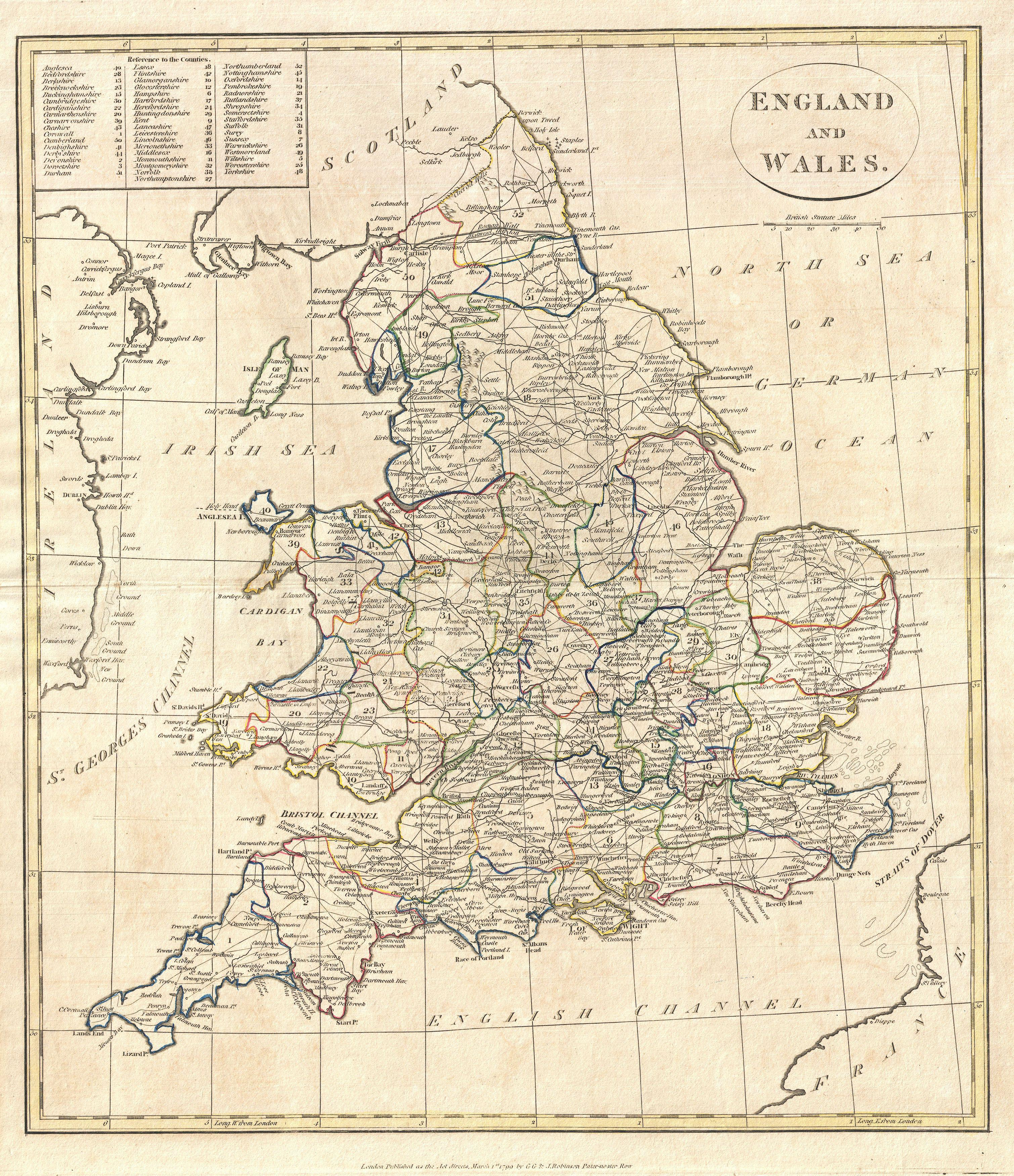 File Clement Cruttwell Map Of England Geographicus England - Historic maps england