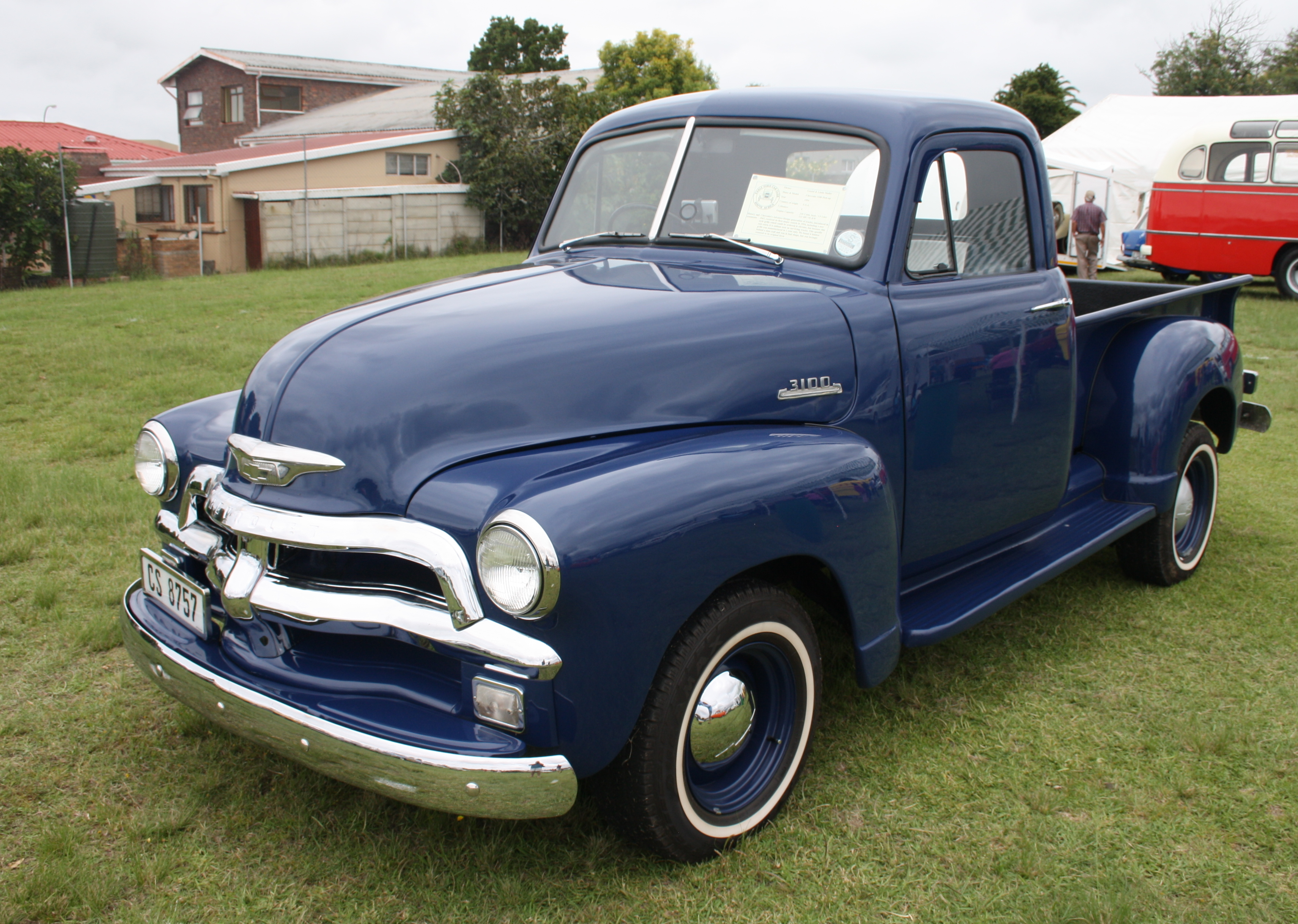 Old Chevy Truck >> File:1954 Chevrolet 3100 Pick Up (12403476424).jpg - Wikimedia Commons
