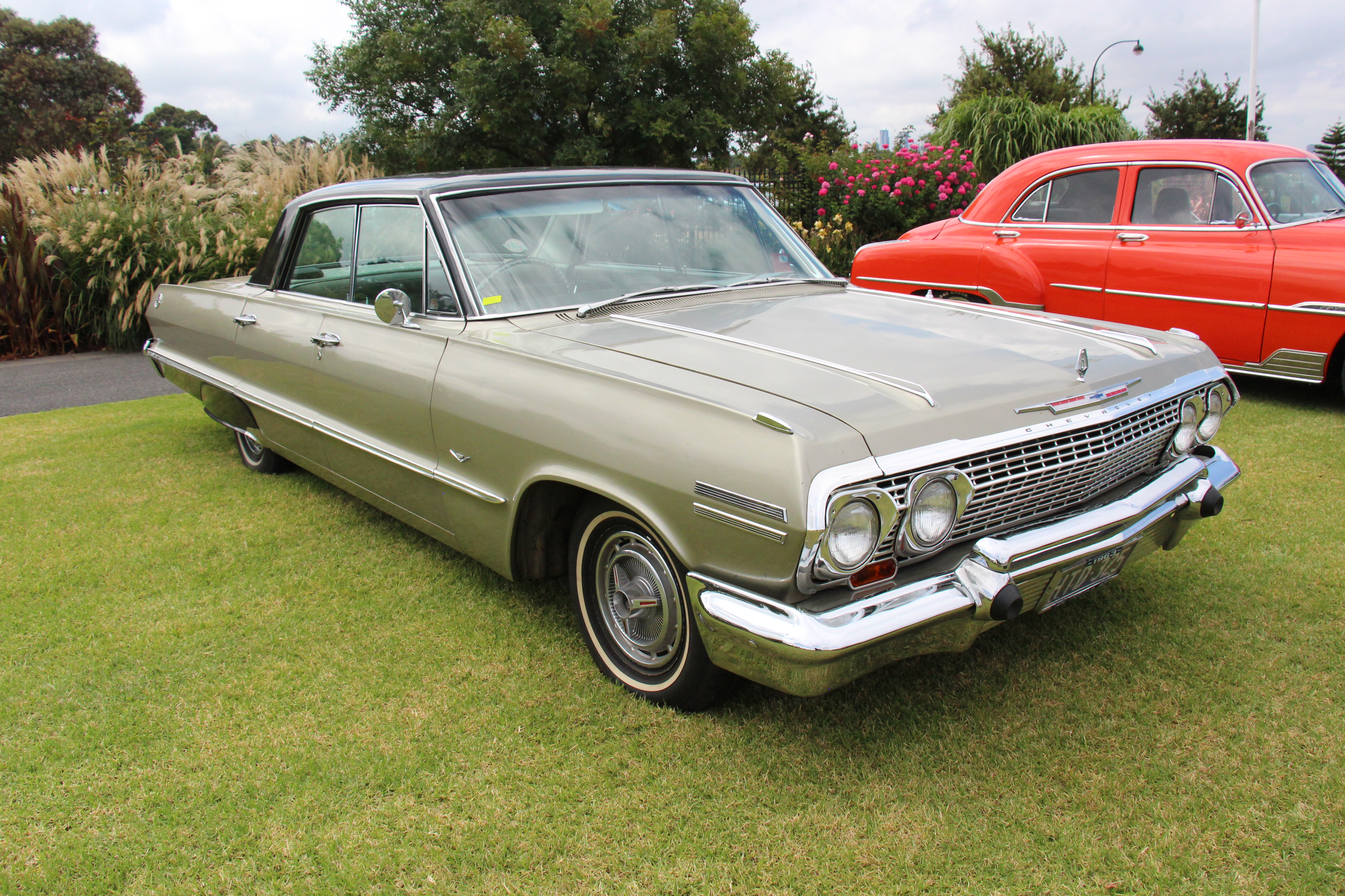 File 1963 Chevrolet Impala 4 Door Hardtop Sport Sedan 33347730106 Jpg Wikimedia Commons