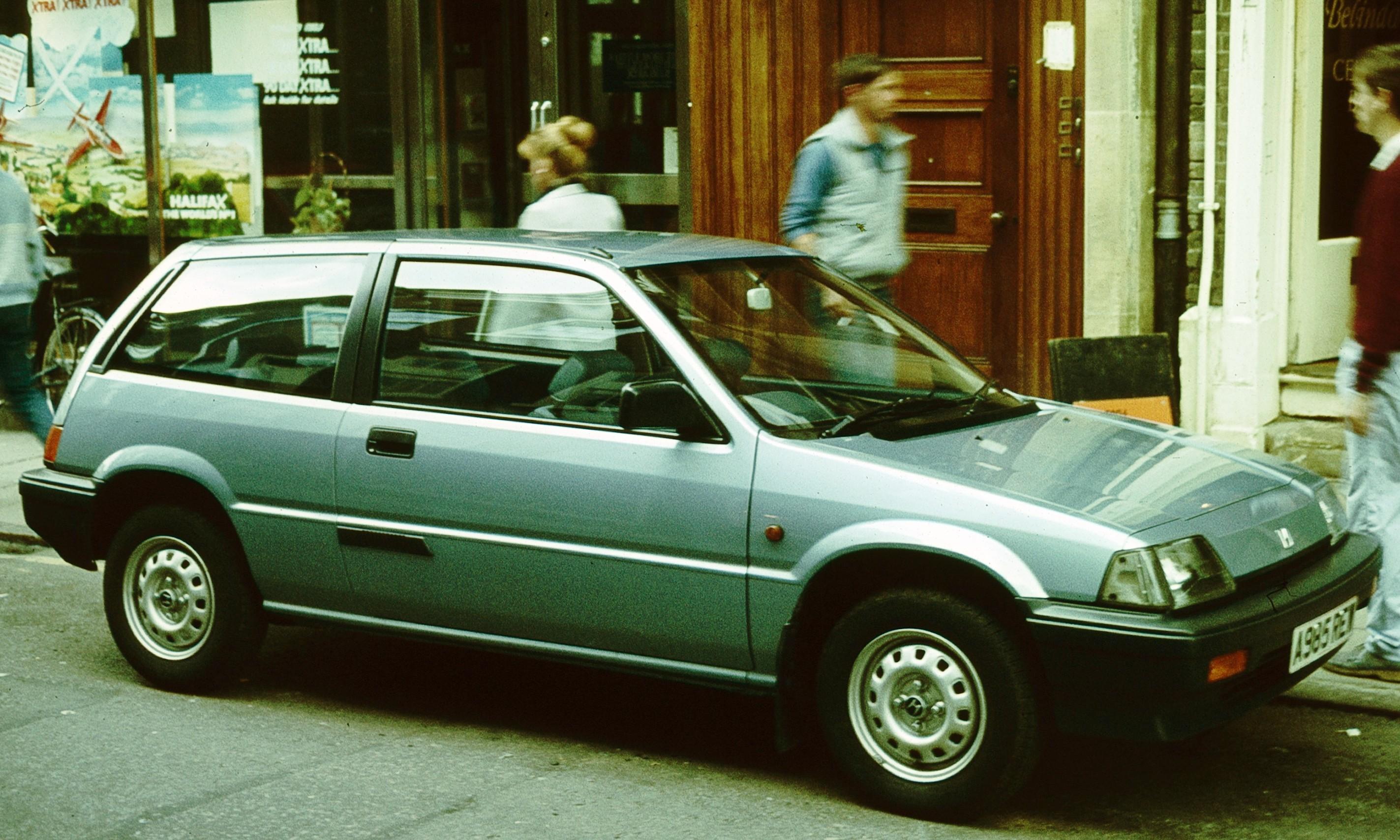 File 1984 Honda Civic 3 Door Cambridge Jpg Wikimedia