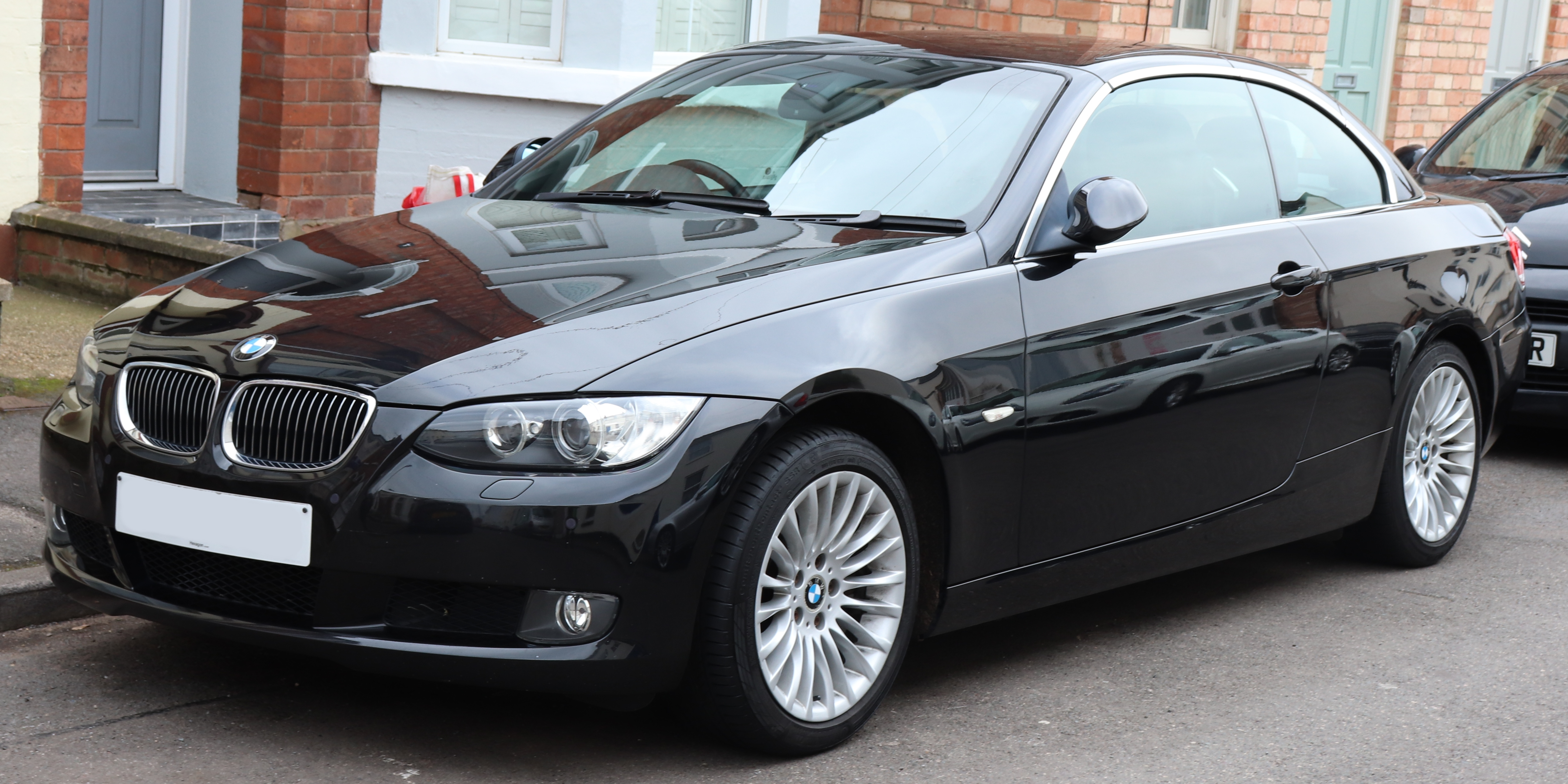 File 2007 Bmw 330i Se Automatic 3 0 Front Jpg