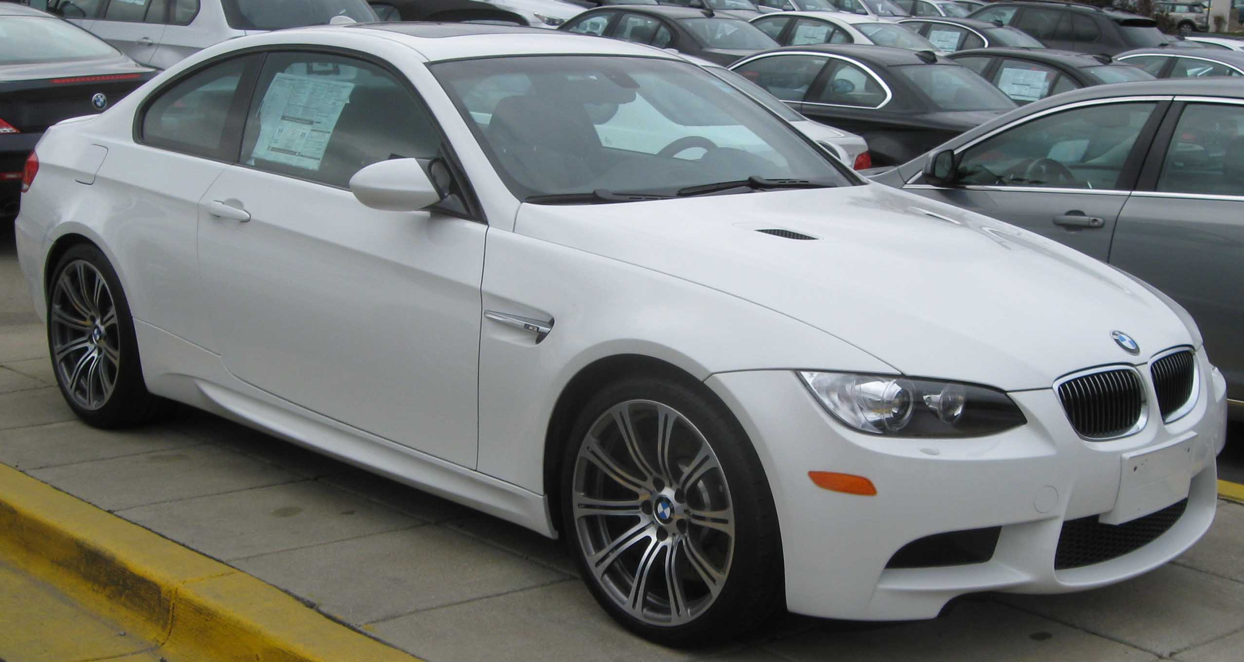 File 2009 Bmw M3 Coupe Jpg Wikipedia