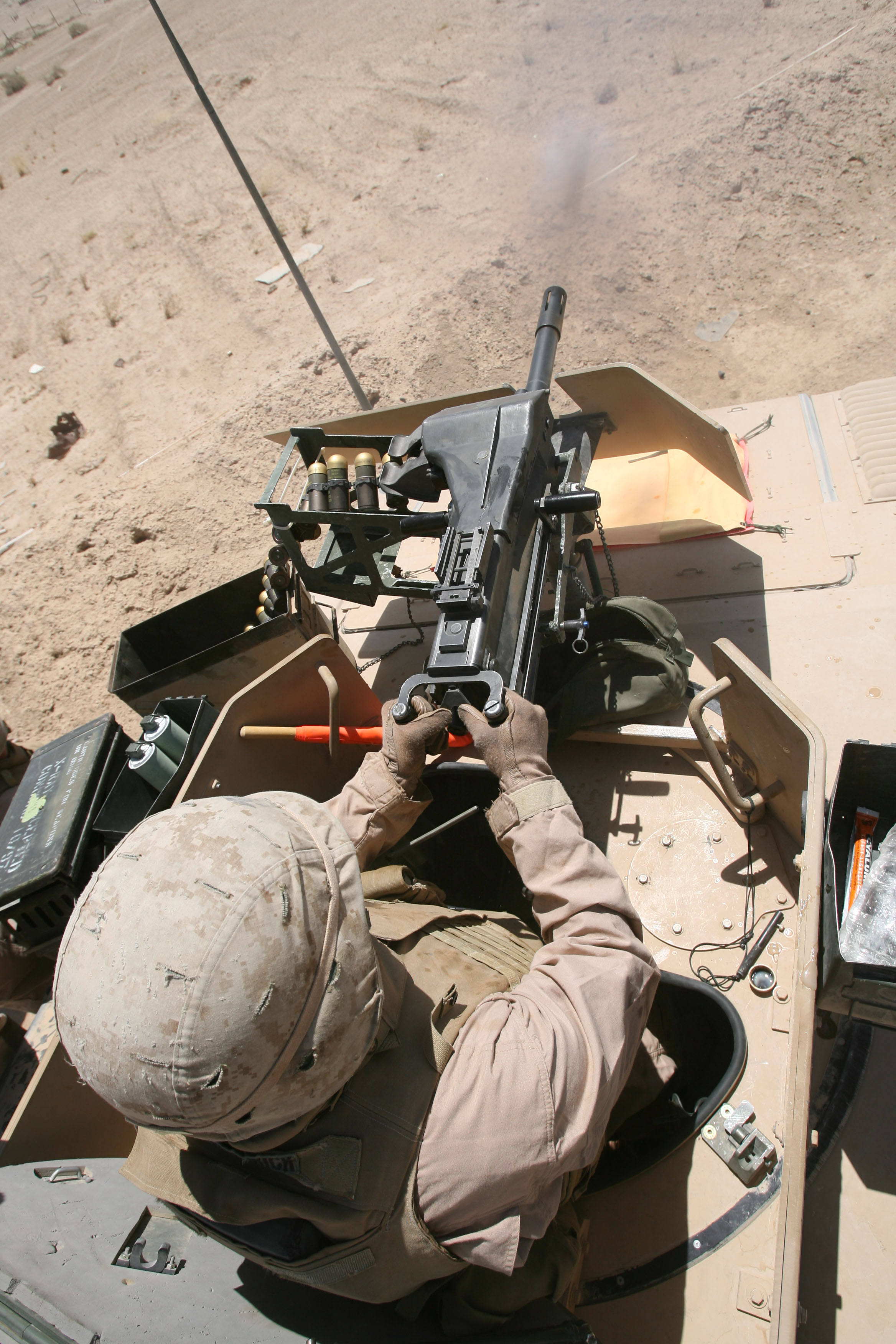 File:40 mm Mk 19 Marine Turret.jpg - Wikimedia Commons