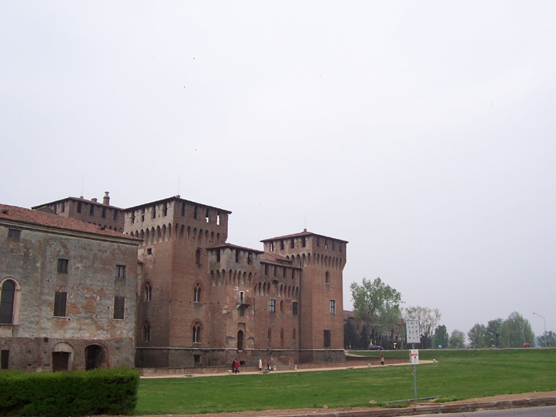 Mantova - S. Giorgio Castle, part of the Ducal Palace
