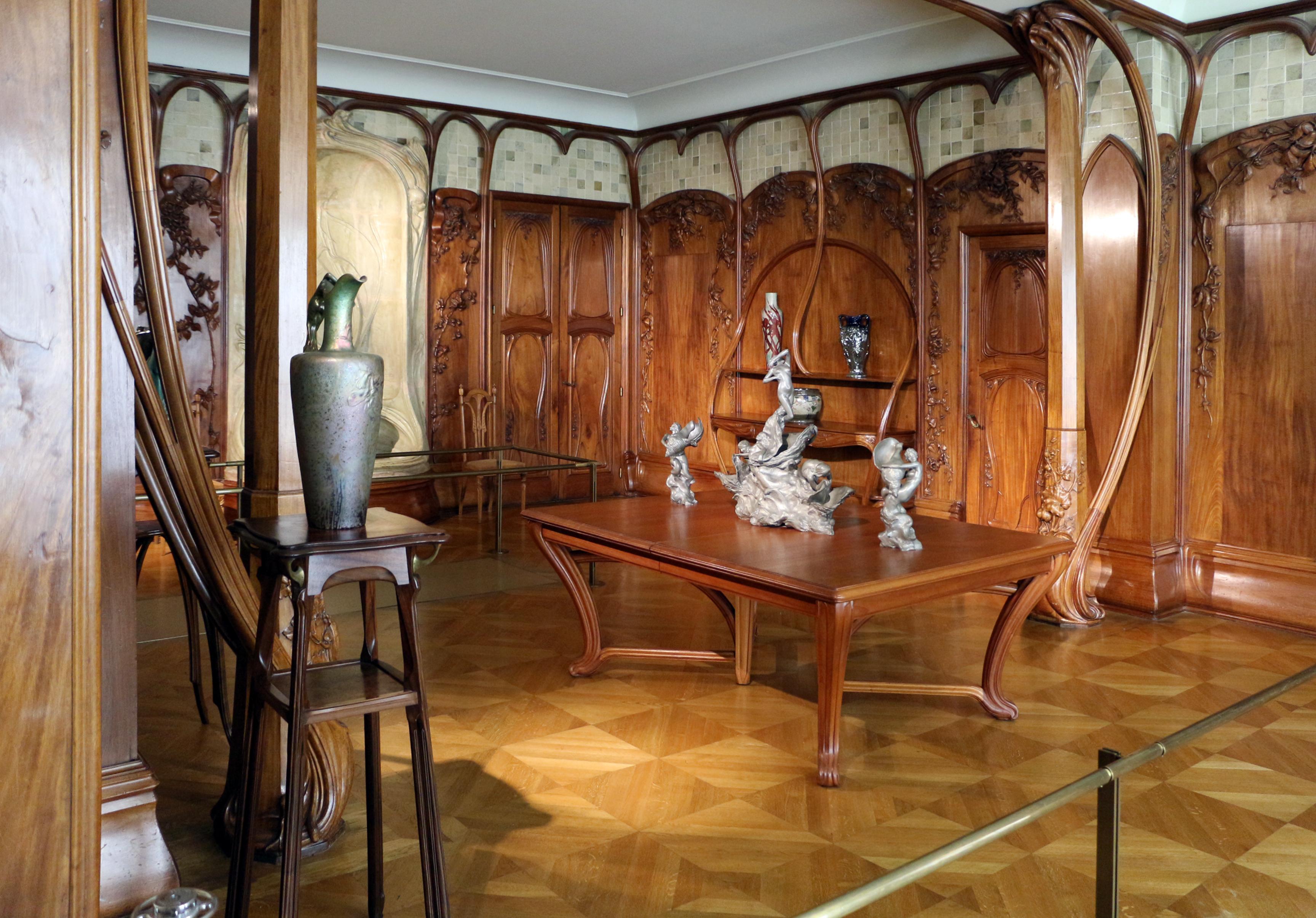 File:Alexandre charpentier, boiserie della sala da pranzo della villa del banchiere adrien ...