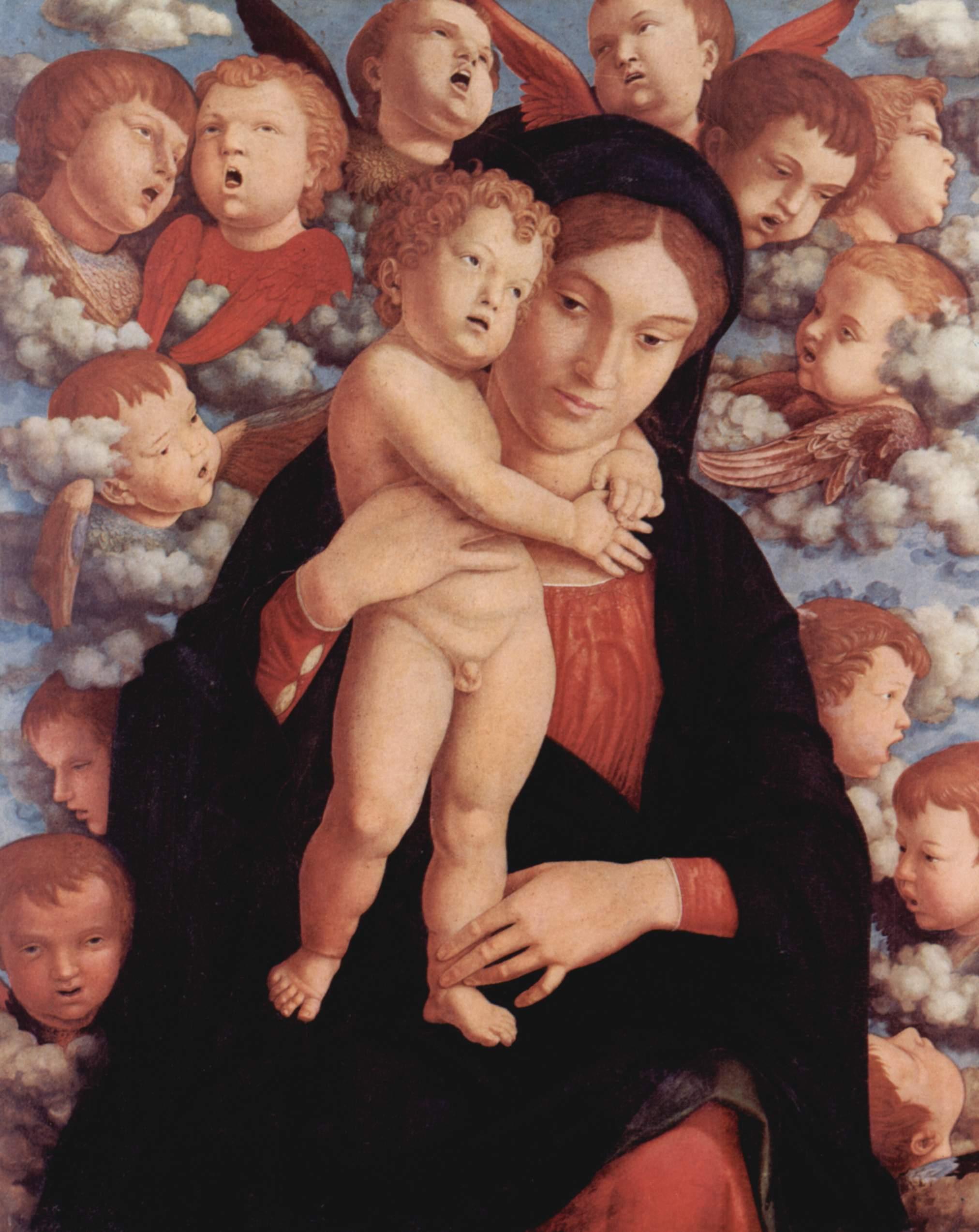La Vierge aux chérubins