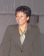 Anna Birulés en la inauguración de Mundo Internet 2001