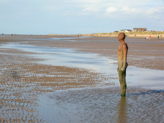 File:Another Man, Another Beach, Another Place ... - geograph.org.uk - 1073631.jpg