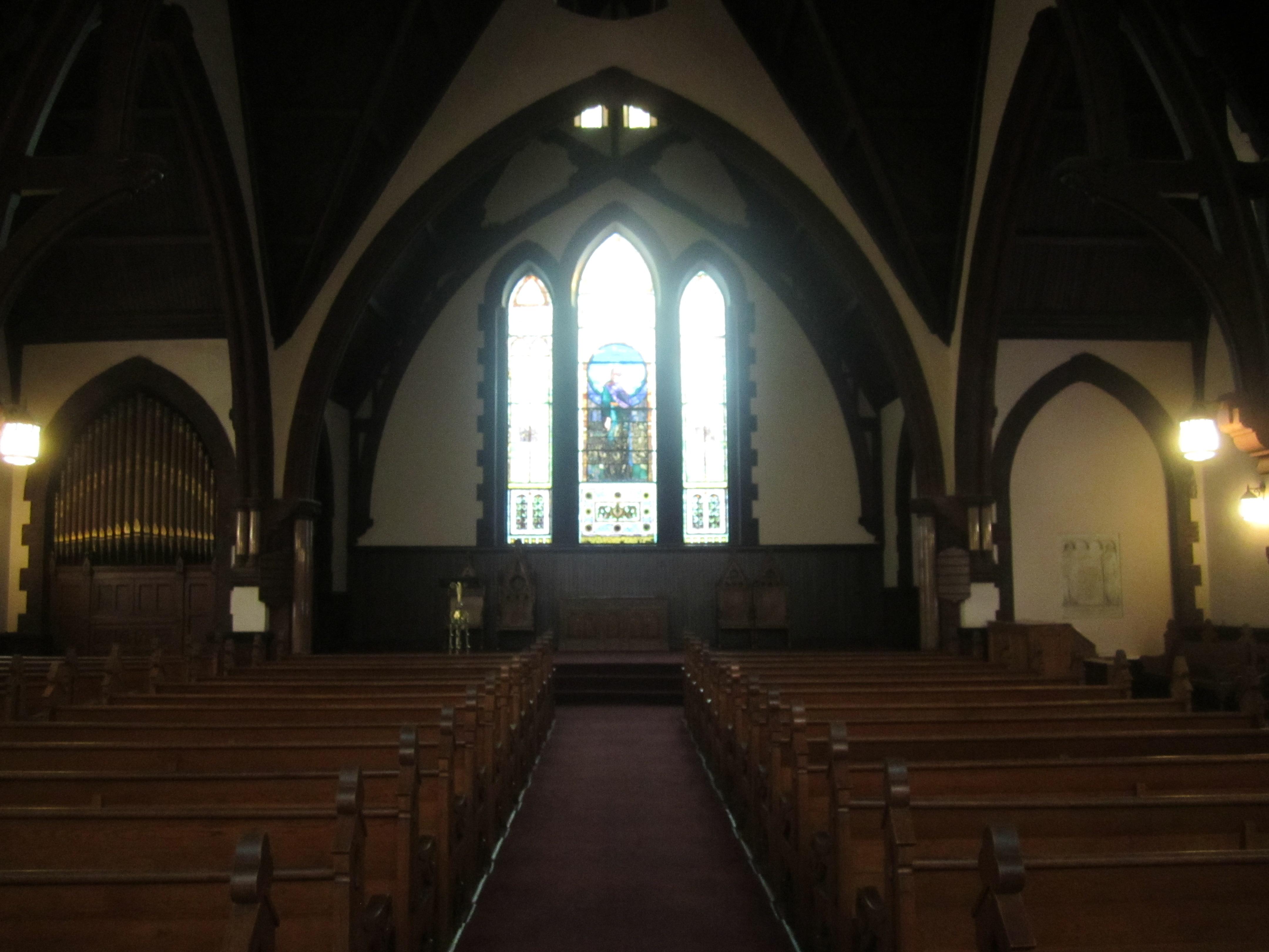 Inside the UVA Chapel