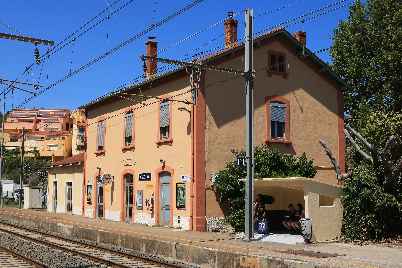 Gare de Collioure — Wikipédia
