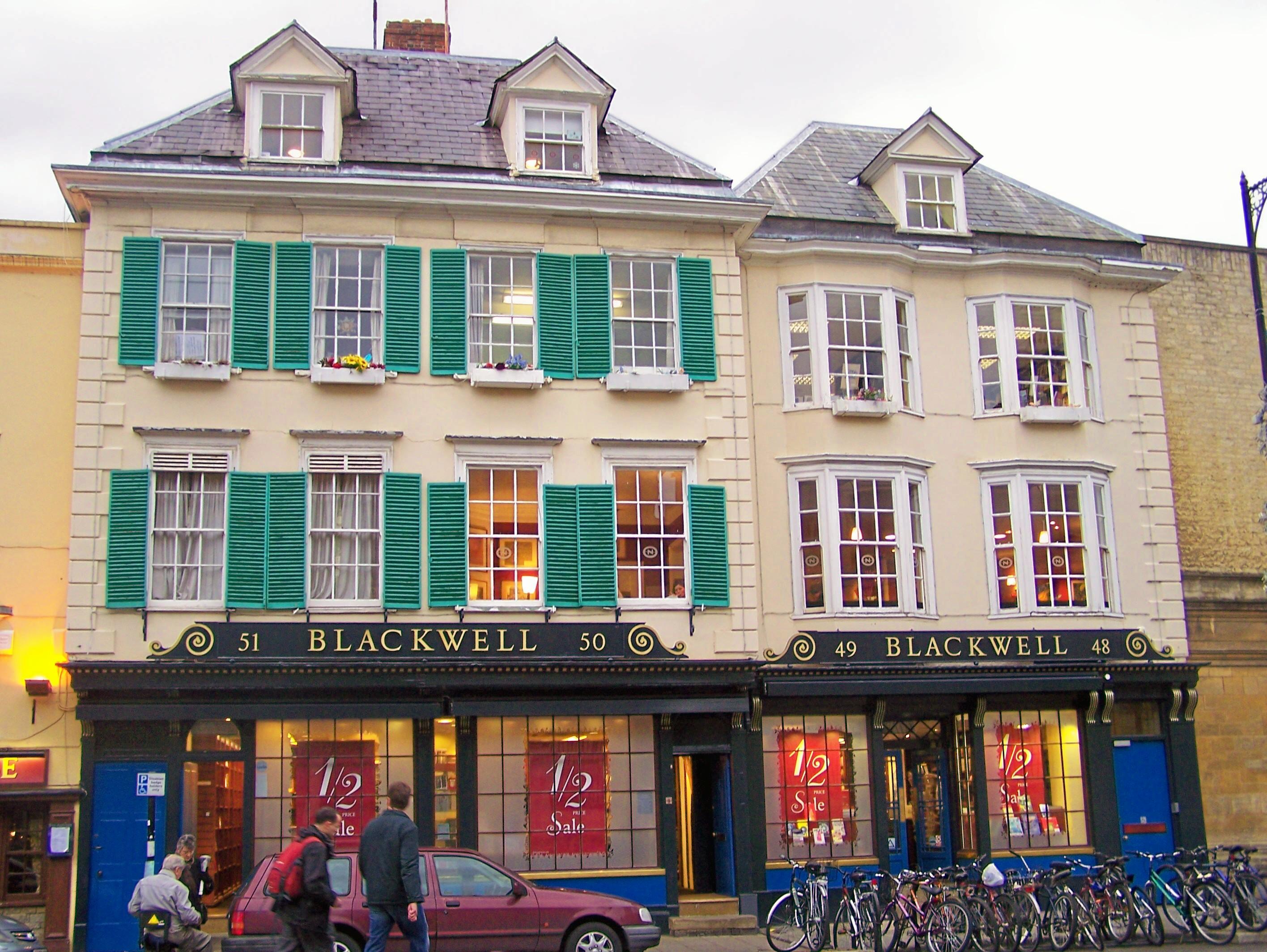 oxford bookshop: