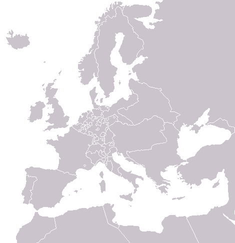 Political Map Of Europe Blank.Europe Blank Political Map
