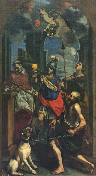 Cristoforo Savolini (1639-77): Ss Karl Borromeus, Domninus av Fidenza og Apollonia