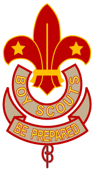An early version of the Scout emblem, used in the United Kingdom before 1967 Boy Scout Association 1920-1967.png