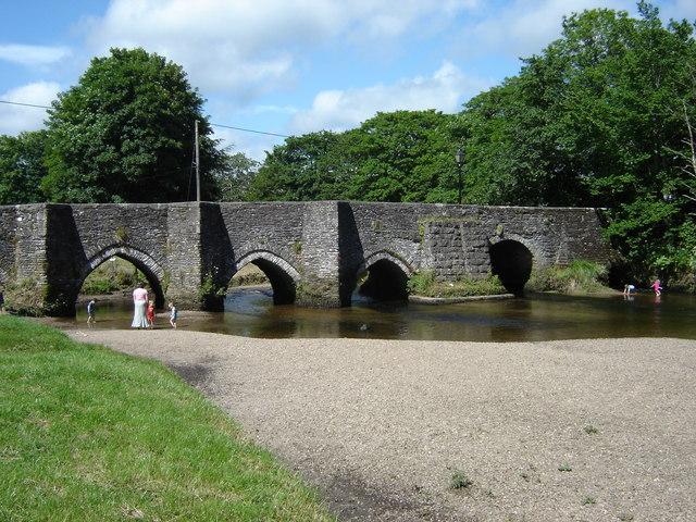 Bridge 14th Century Lostwithiel - geograph.org.uk - 1372561