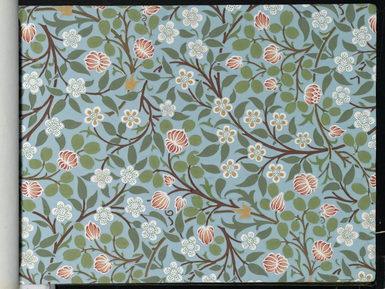 File:Brooklyn Museum  Wallpaper Sample Book 1  William Morris and Company  page049.jpg