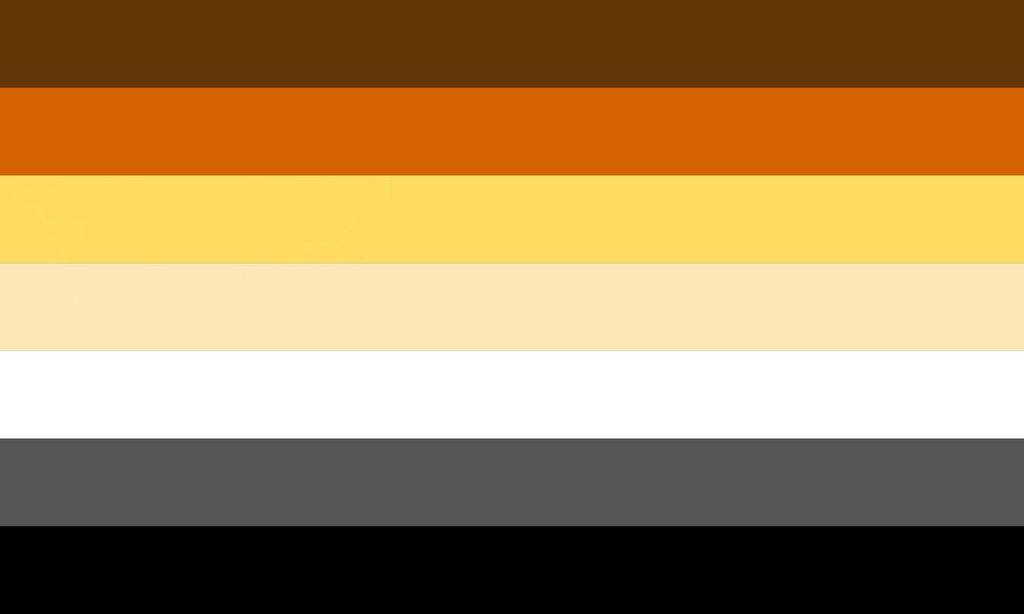 Image result for bear pride flag brown