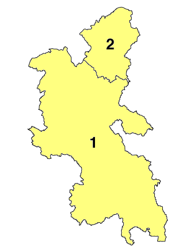Unitary Authority in Buckinghamshire nach dem 1. April 2020