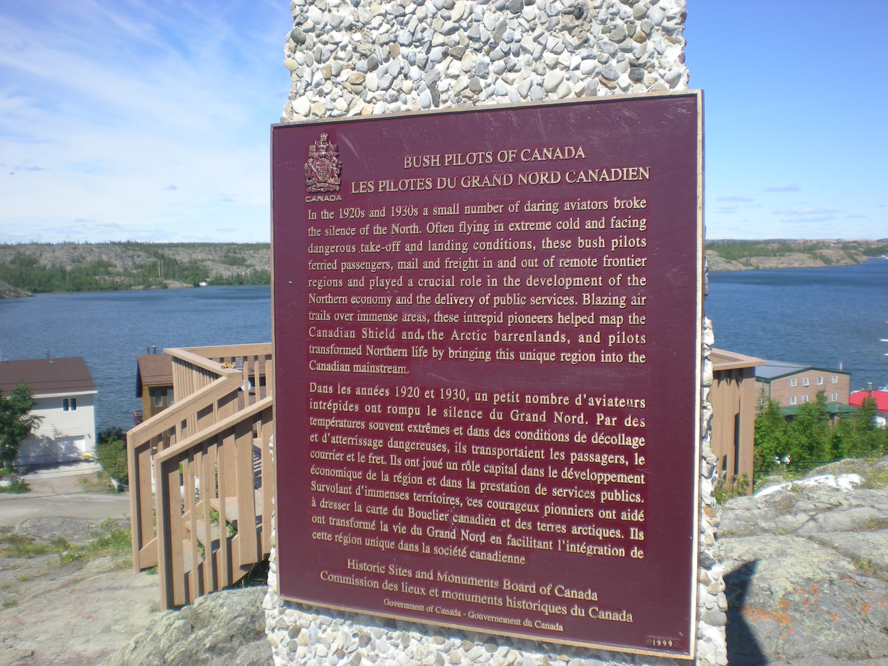 Yellowknife definition what is - Plaque de finition ...