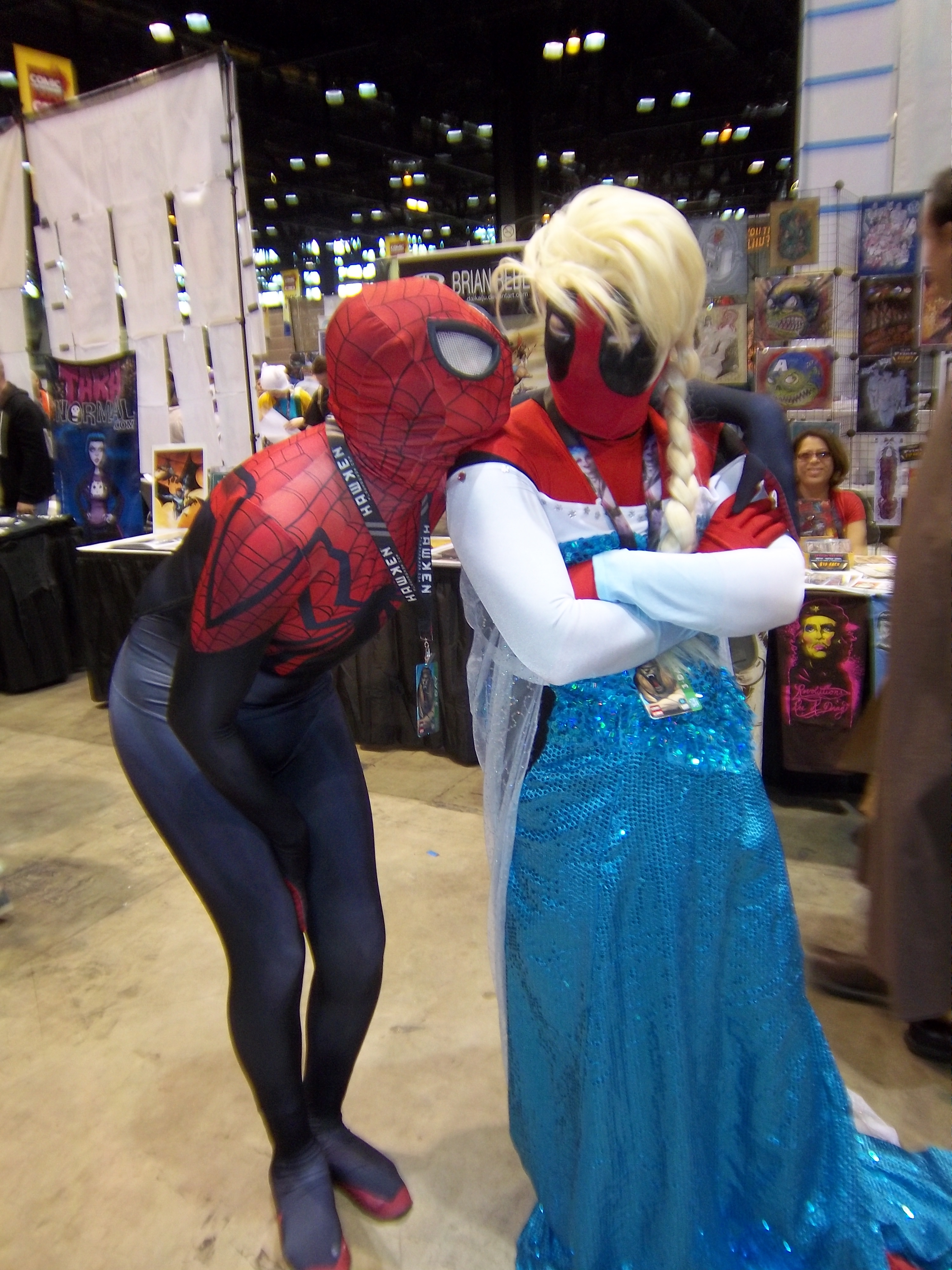 filec2e2 day 2 2014 spiderman and deadpool as elsajpg