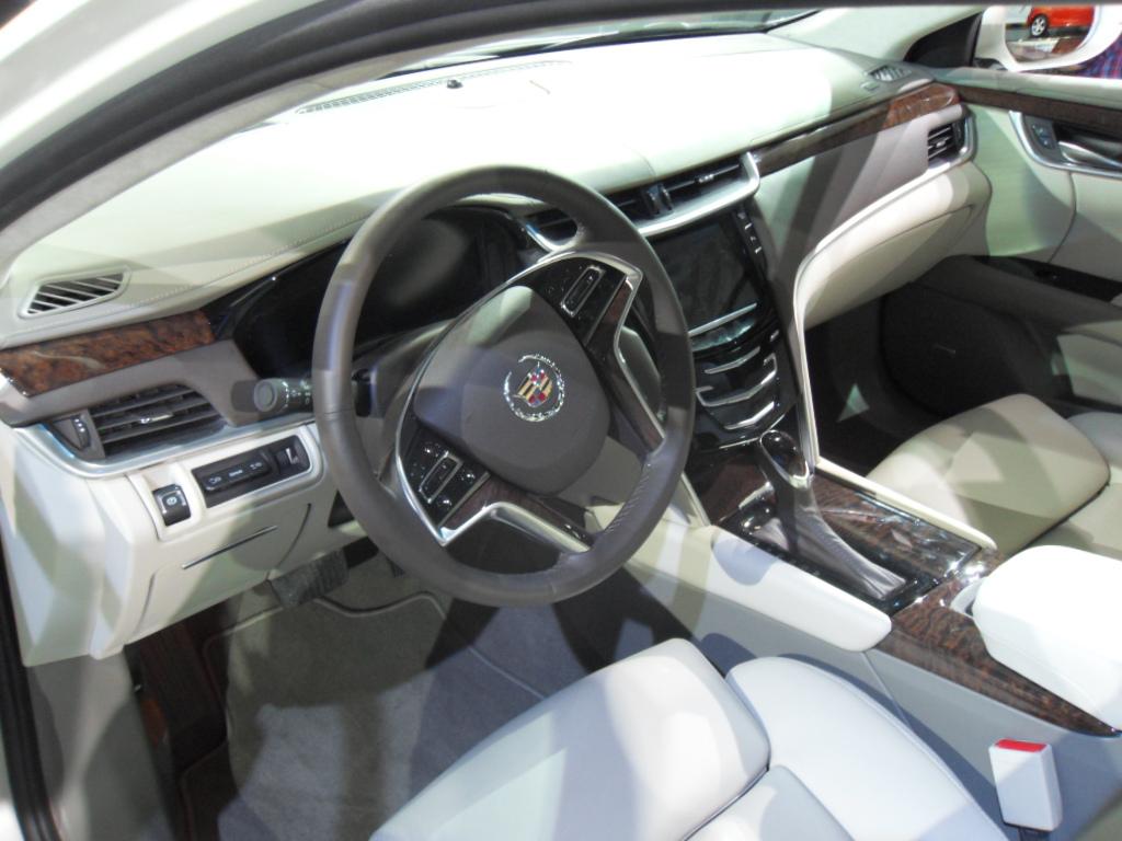File:Cadillac XTS Interior