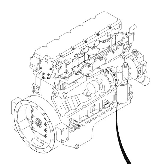 Diagram Of Rear Engine 3116