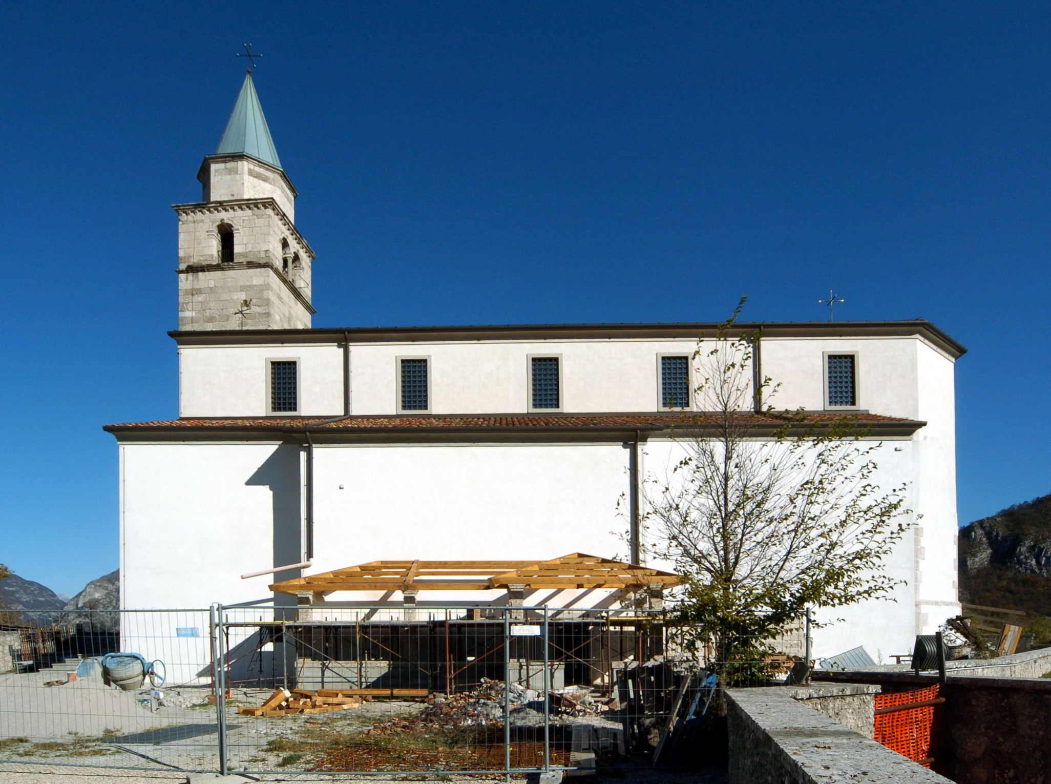 Pieve Santo Stefano Italy  city pictures gallery : Cavazzo Càrnico Cesclans Pieve di Santo Stefano 01112007 61 ...
