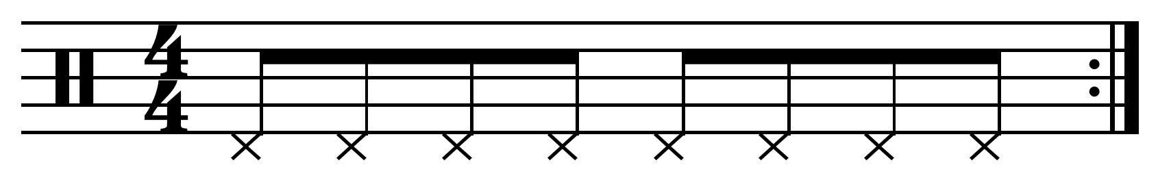 musical concept or technique, which is considered too simple to be eligible for copyright protection, or which consists only of technique, with no original