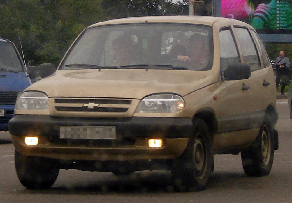 GM-АВТОВАЗ отзовет 2,7 тысячи авто Шевроле Niva