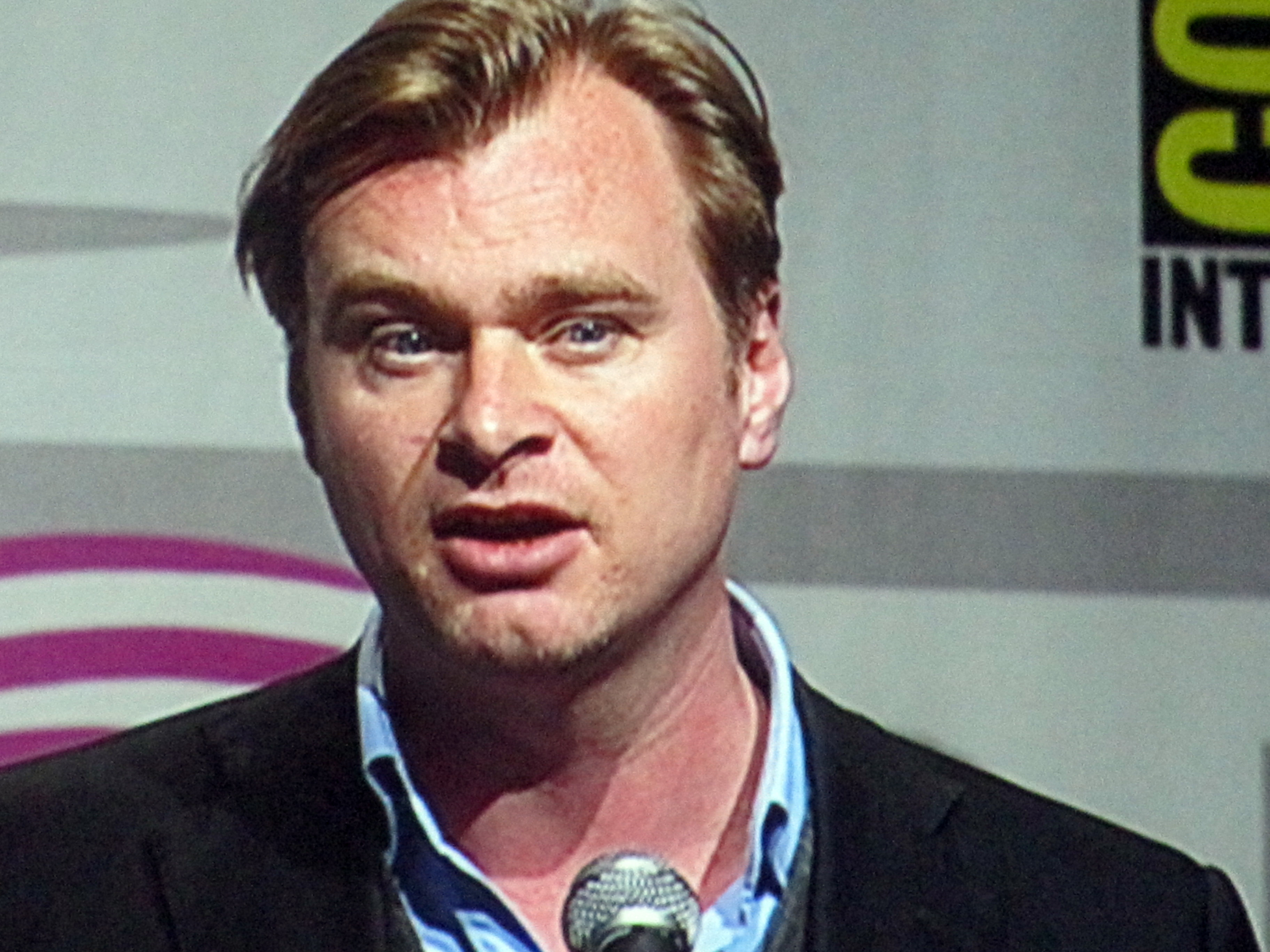 Photograph of Christopher Nolan