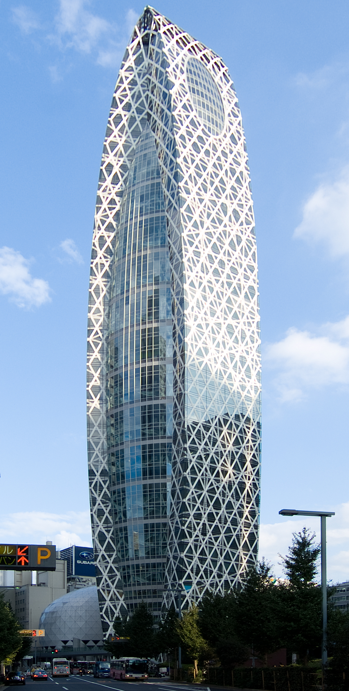 Mode gakuen cocoon tower wikipedia for Architecture tokyo