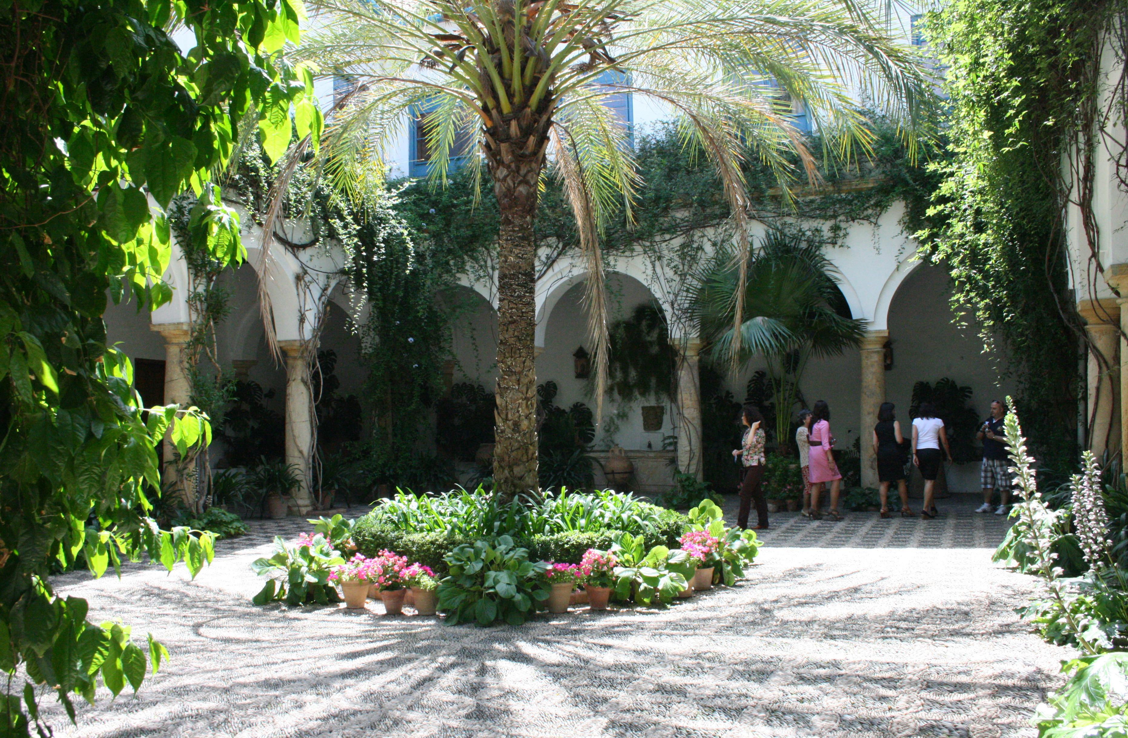 Interior Courtyard File Cordoba Palacio De Viana Reception Courtyard Jpg