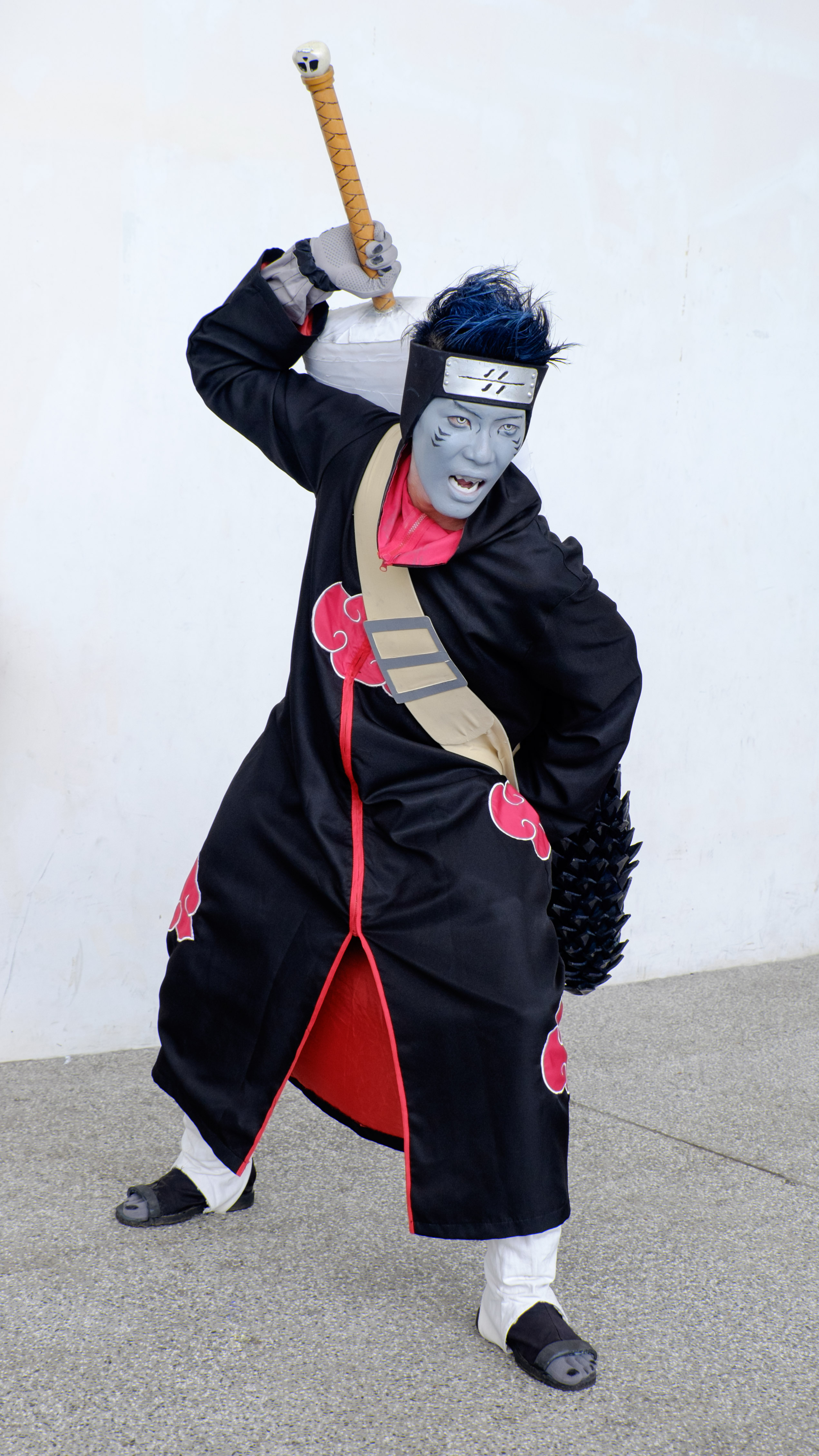 File Cosplayer Of Kisame Hoshigaki Naruto In Pf22 20150509a Jpg Wikimedia Commons