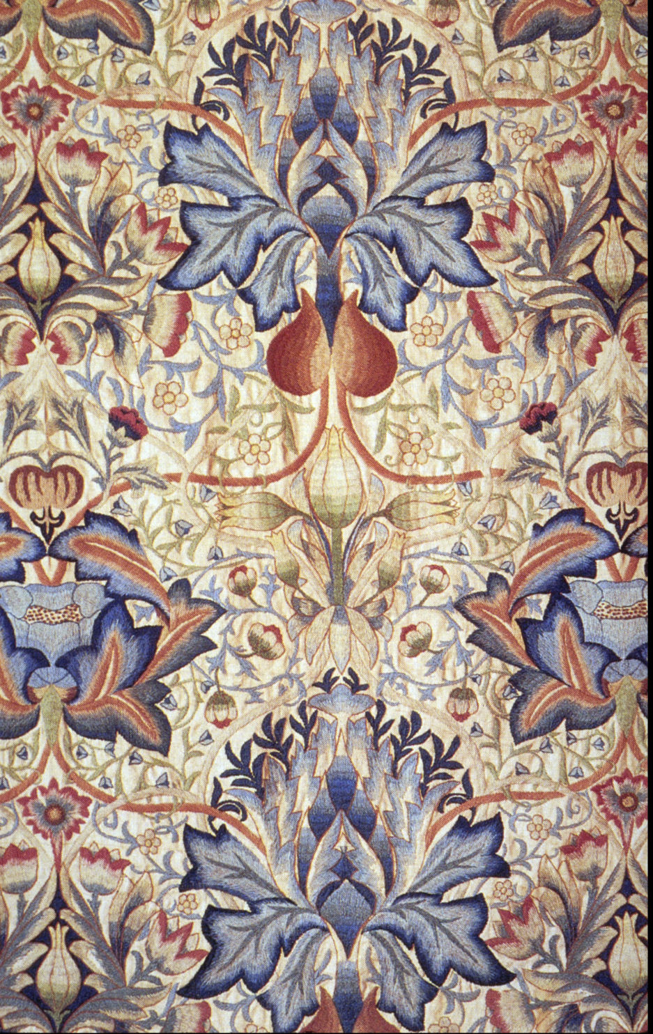 File Embroidered Panel Morris And Wikimedia