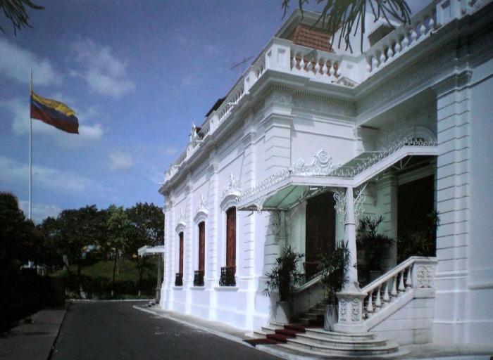 Palacio de Miraflores, sede del Ejecutivo Nacional desde 1900.[51]