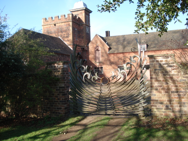 Eternity Gates at Dudmaston Hall - geograph.org.uk - 465570