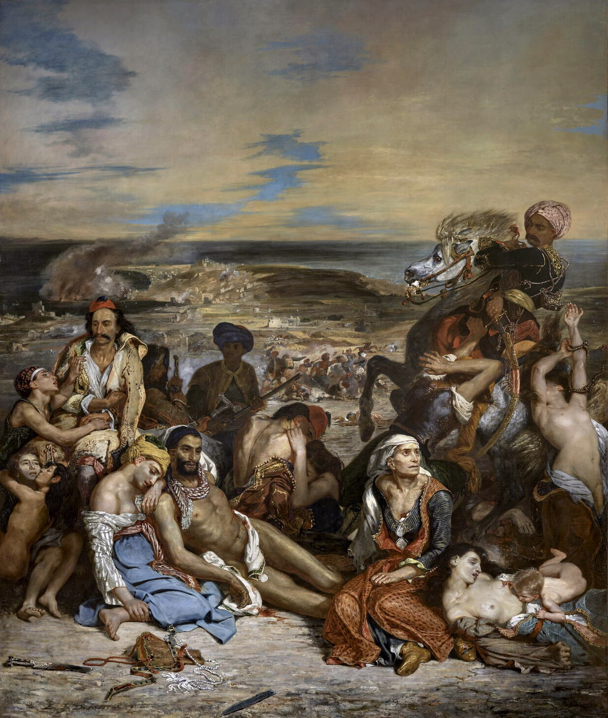 Delacroix, o massacre de Chios