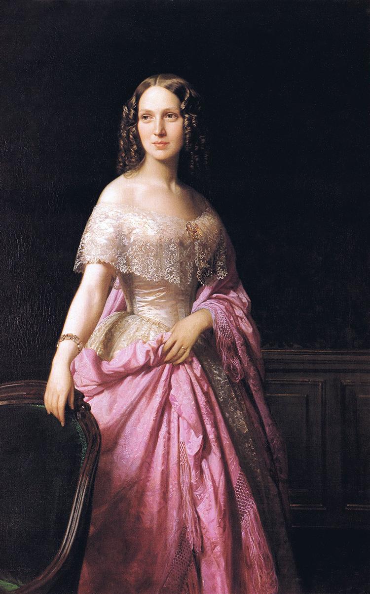 F. de Madrazo - 1852, Elizabeth Wethered Barringer (Ackland Art Museum, Carolina del Norte, 142 x 99 cm).jpg