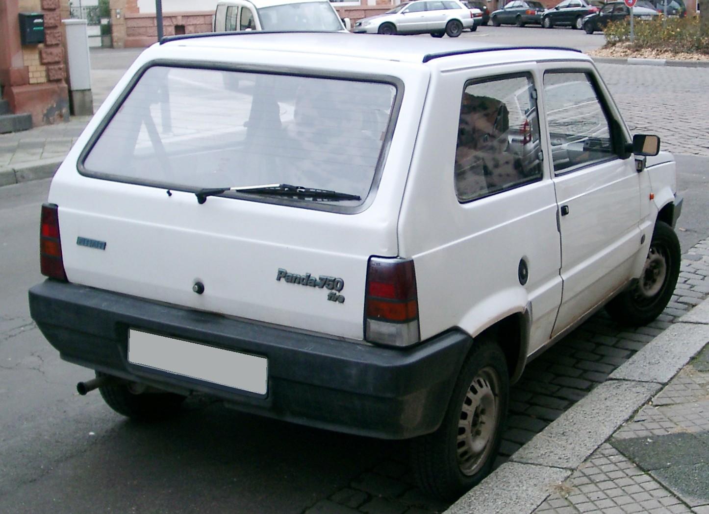 File Fiat Panda Rear 20071205 Jpg Wikimedia Commons