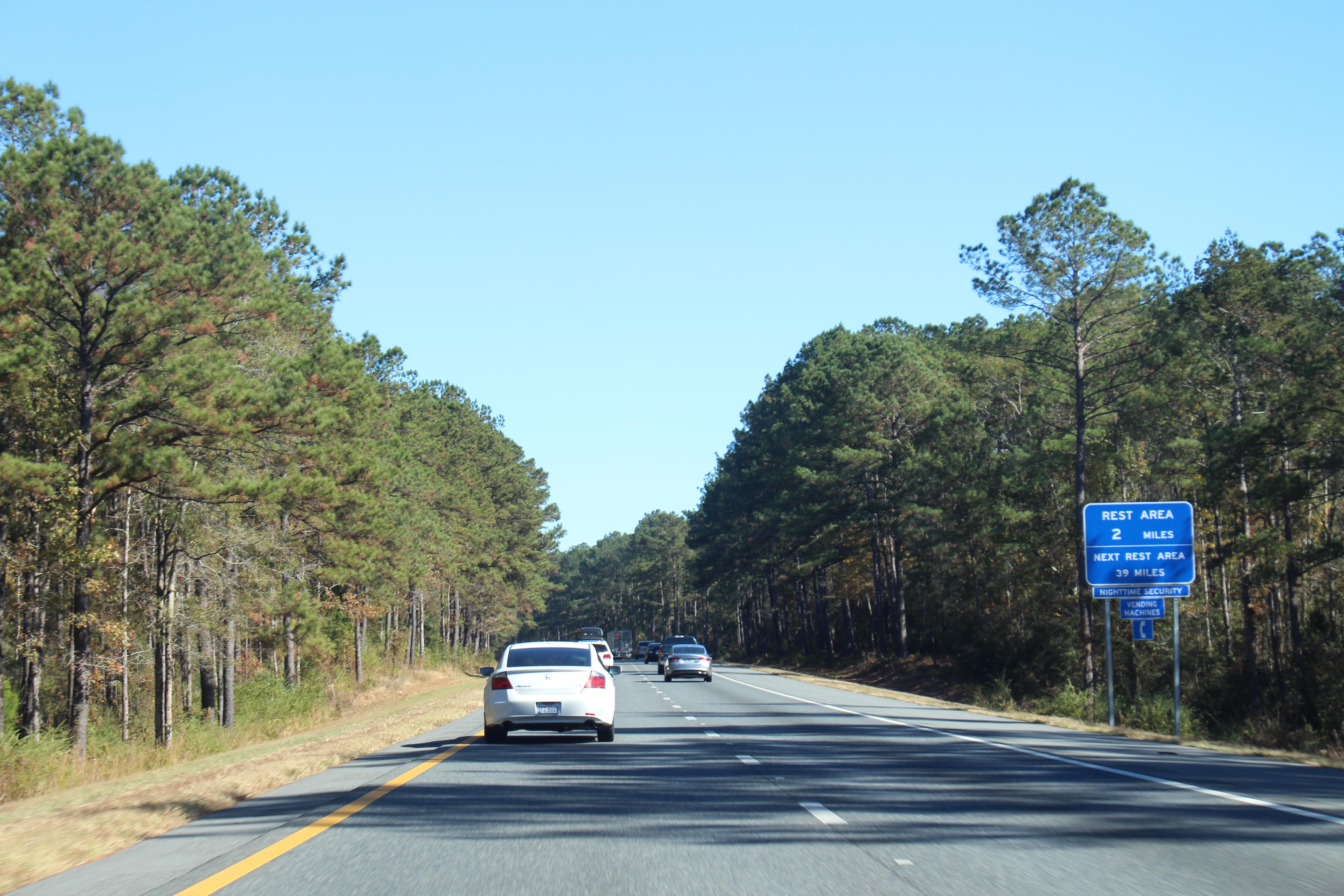Highway 2 rest area