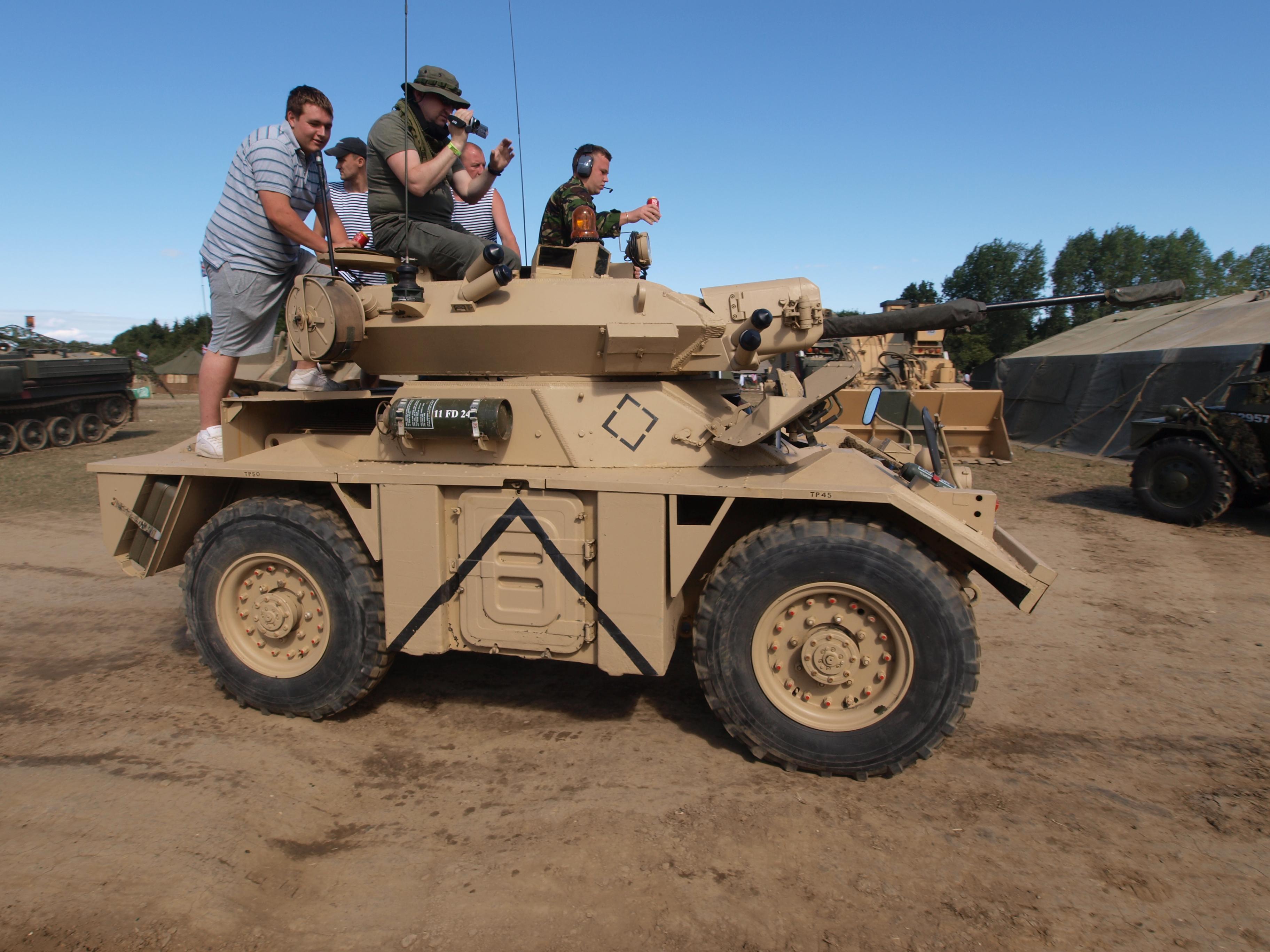 Fox Armoured Car For Sale