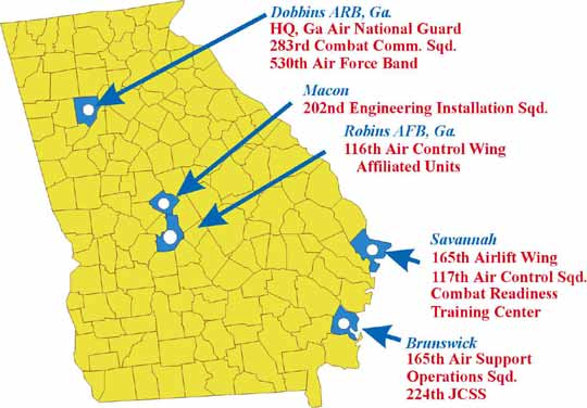 FileGeorgia US Map With Air Guard Dislocationpng Wikimedia - Us armor unit map