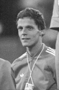 Gerard Nijboer, zdobywca srebrnego medalu