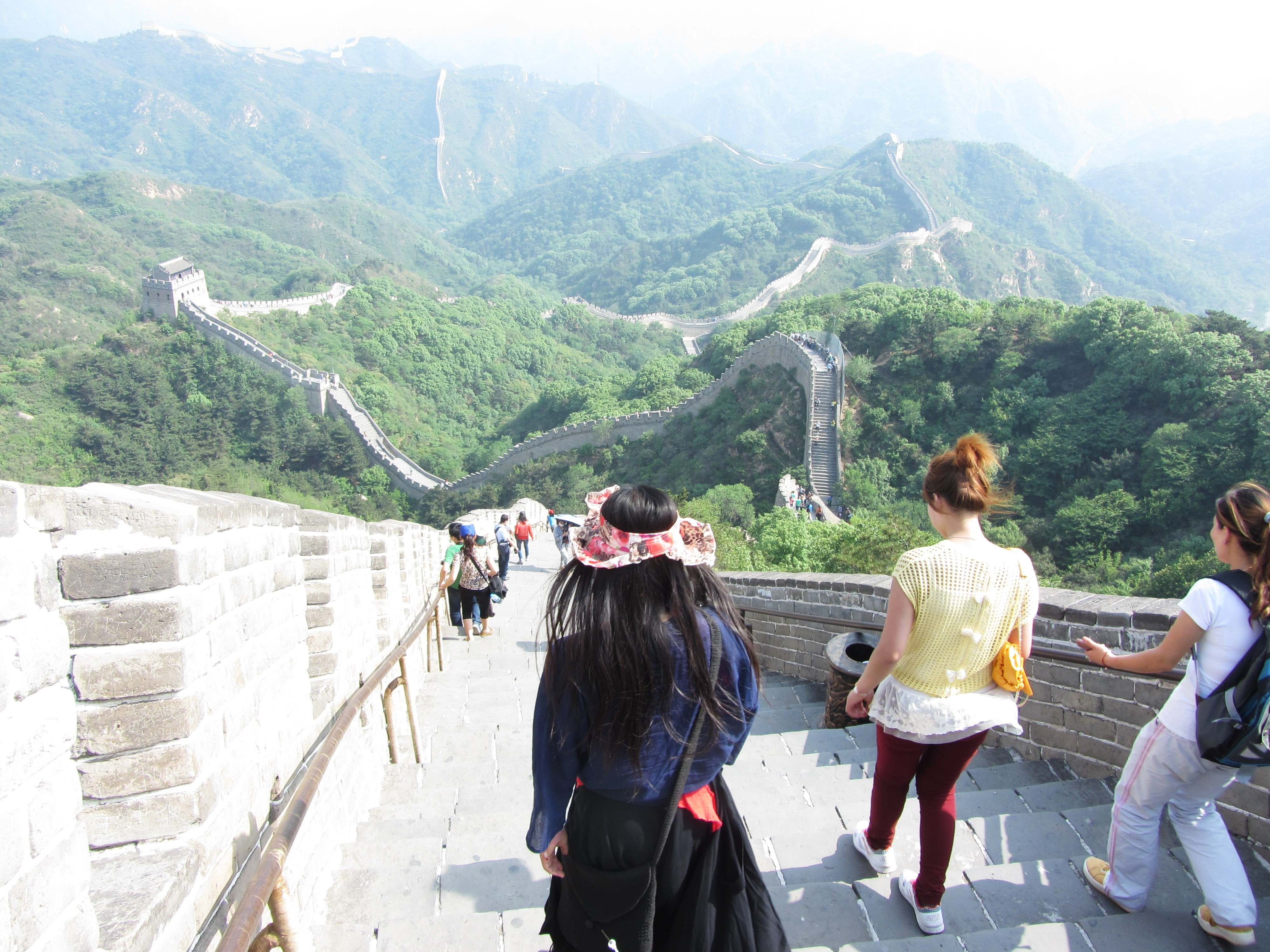 File Great Wall Of China Summer 2012 Jpg Wikimedia Commons